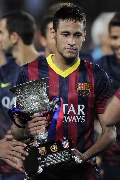 Mismo caso para el brasileño Neymar.