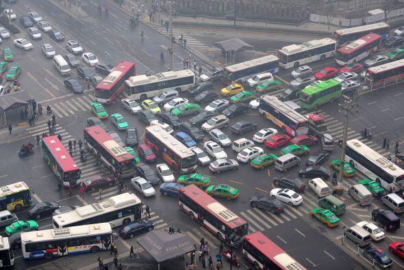Ante los peligrosos niveles de contaminación, el Gobierno chino a...