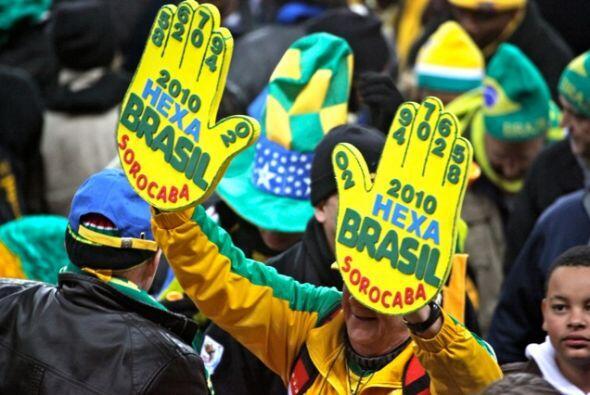Los aficionados brasileños ya sueñan con el con el Hexacam...