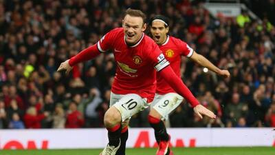 'Wazza' marcó los dos goles del Manchester United ante Sunderland.