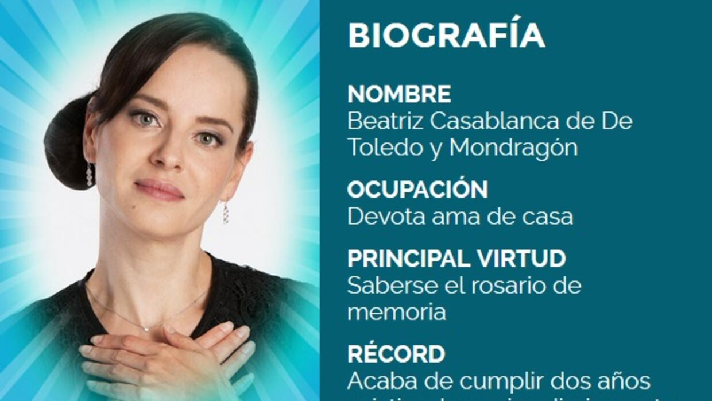 Beatriz bio