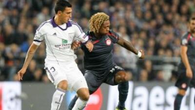 Los griegos hicieron el partido ideal para vencer al Anderlecht.