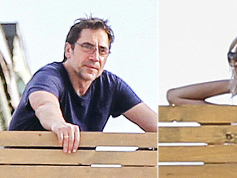 Javier Bardem y Jennifer Lawrence