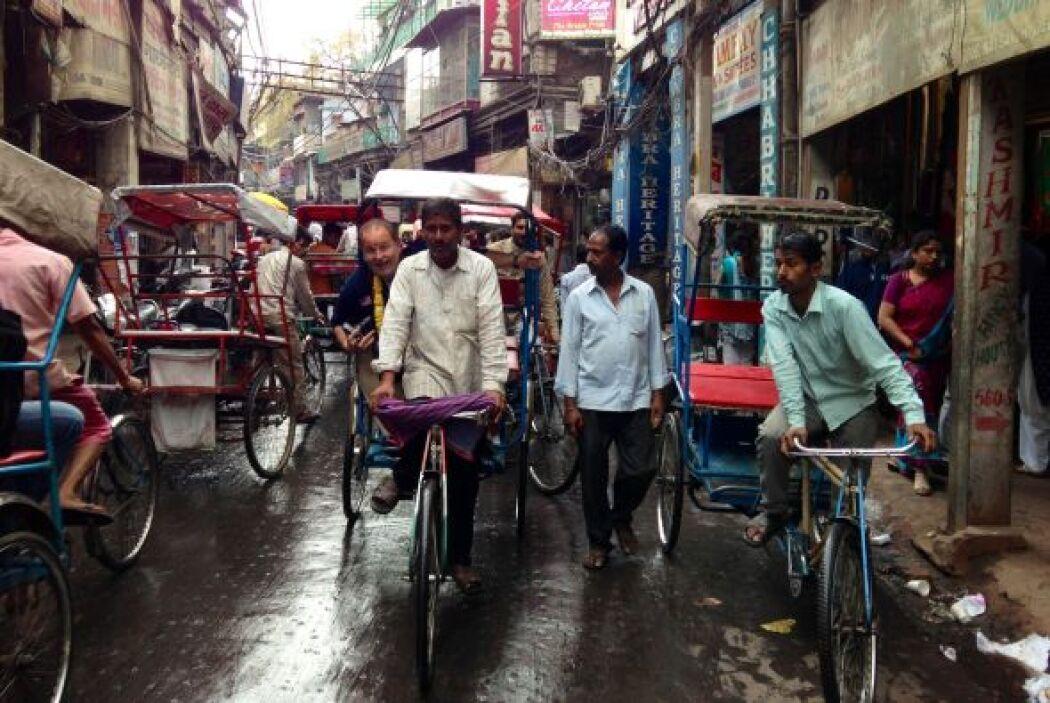 ¡Y Rauli con una bicicleta para él solito!
