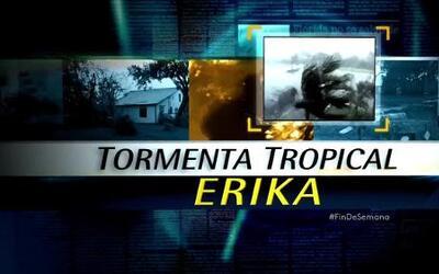 Alertas costeras canceladas al disiparse Erika rumbo a Florida