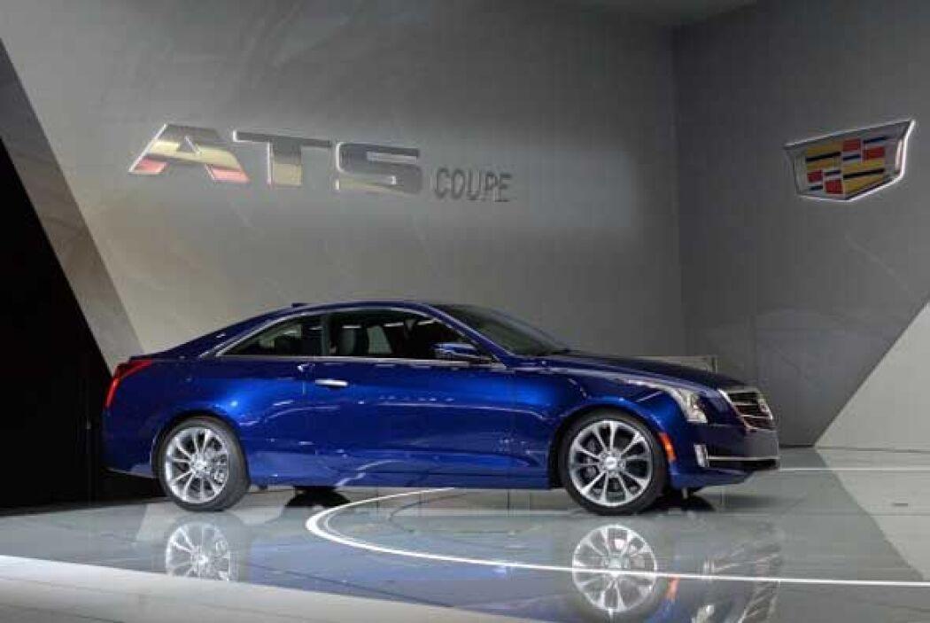Cadillac le dio una imagen más deportiva al ATS con ls nueva versión coupé.