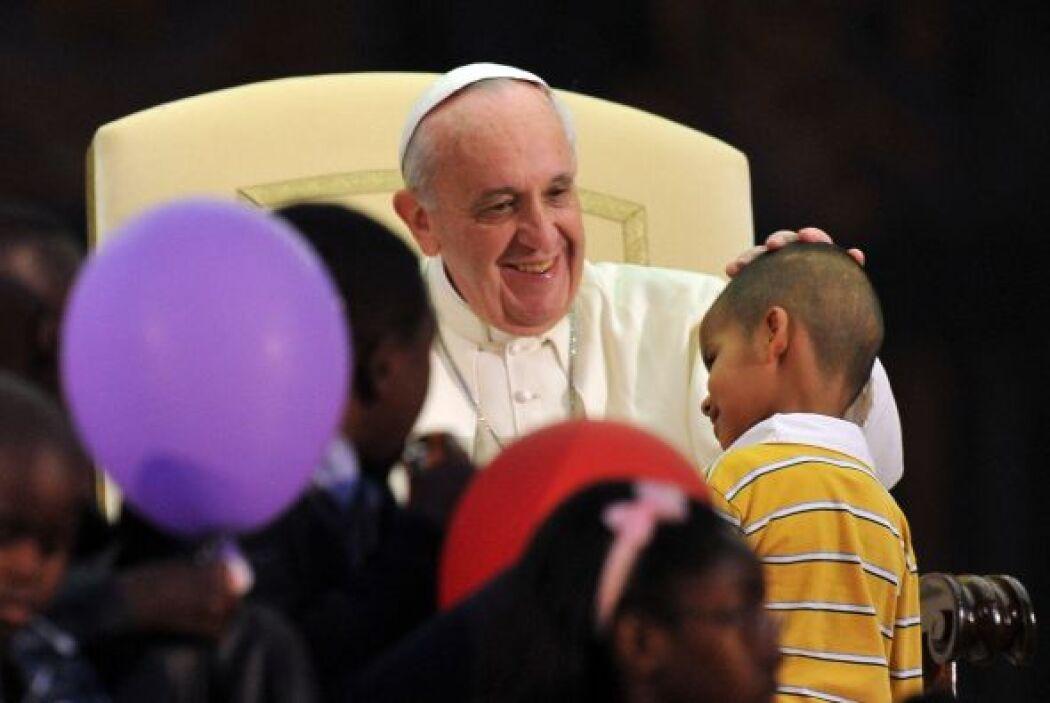 La humanidad de Francisco se ha replicado en todas sus apariciones públi...