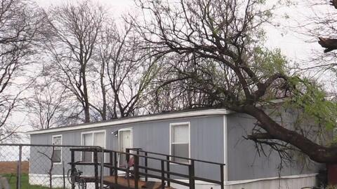 Thrall, el poblado texano que se cimbró con el paso de tormentas y tornados