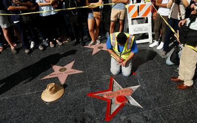 Policía de Los Ángeles arresta al sospechoso de haber destrozado la estr...