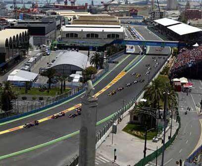 GP de EUROPA, 27 de junioSebastian Vettel ganó el Gran Premio de...