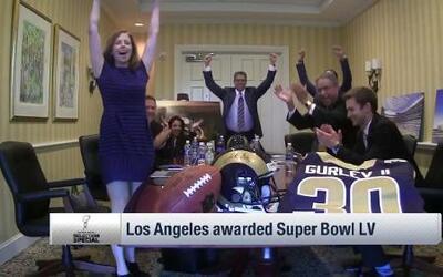 La magestuosa nueva casa de los Rams en Los Angeles, será la sede del Su...