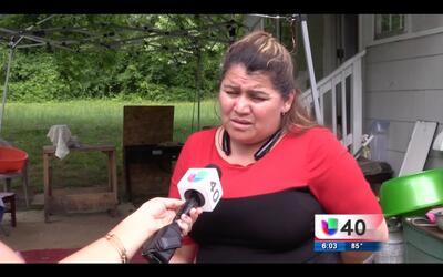 Una familia hispana en Gastonia vive un momento de terror durante un vio...