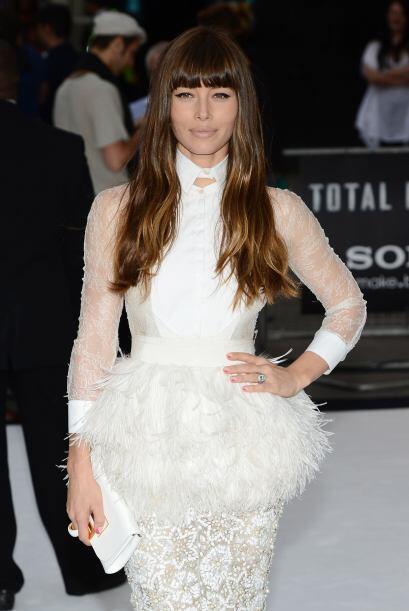 La fashionista Jessica Biel lució ultra 'chic' y glamourosa con e...