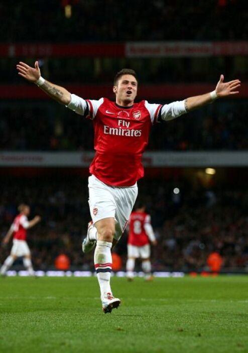 El gol de Giroud hacía presagiar cosas buenas para el Arsenal, pero lueg...
