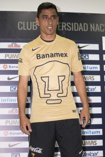 En el ataque de Pumas estará el delantero uruguayo Jonathan Ramis...