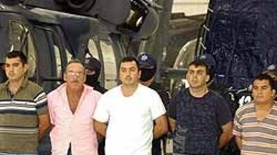 Fueron capturados cinco miembros de grupo delictivo 'La Familia' en Guer...