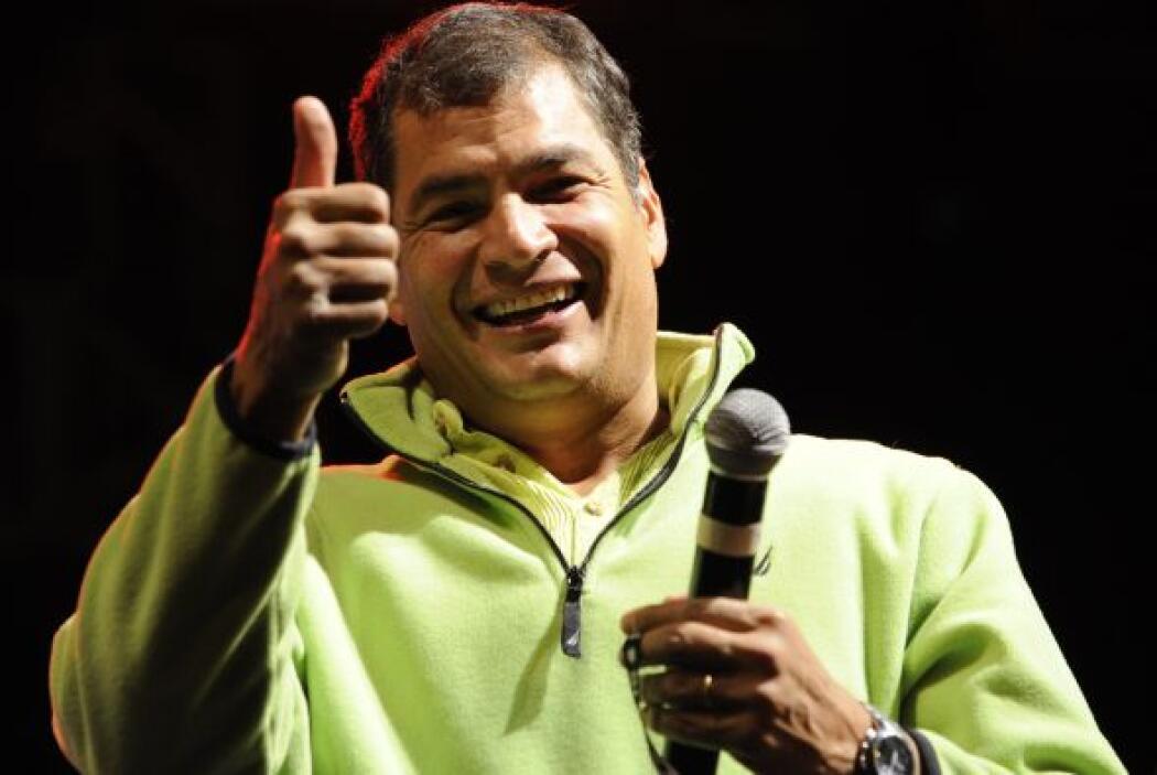 El presidente Correa dijo que 'ojalá que esto no dañe las relaciones ent...
