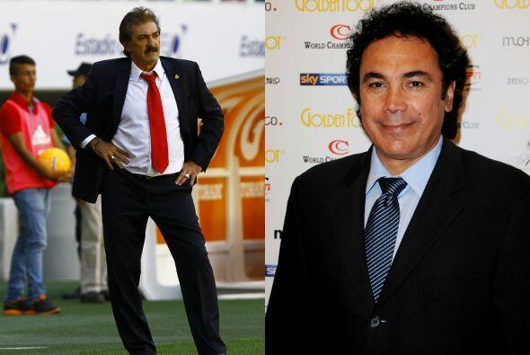 El destino los reunió en 1995, Lavolpe como entrenador y Hugo com...