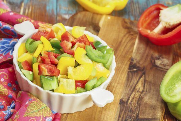Pimientos rojos Estos vegetales pueden disfrutarse cocinados o crudos. U...