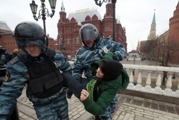 Sin embargo, dentro de Moscú también hubo un contingente d...