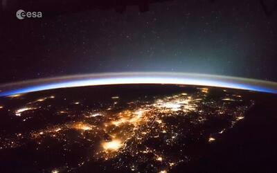 En video: Imágenes de una tormenta sobre California vista desde el espacio