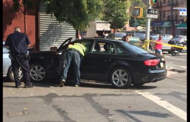 Hispano es interrogado por el tiroteo al conductor de un Audi en East Ha...