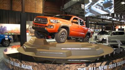 La Toyota Tacoma 2016 en la Feria Estatal de Texas 2015