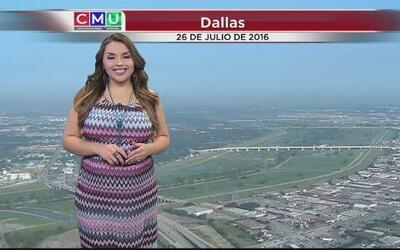 Se anticipan aguaceros y tormentas la tarde de este martes en Dallas