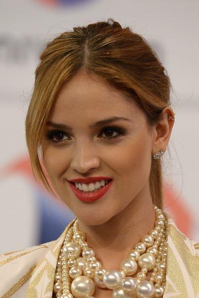 La actriz y cantante Eiza González es hija de la reconocida exmodelo Gle...