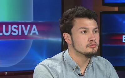 Josué Romero se presentó en las oficinas de inmigración luego de ser lib...