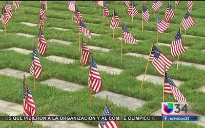 Boys Scouts conmemoran a los soldados caídos en LA