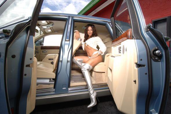 Mayra Verónica mostró que lo suyo es pura seducción...