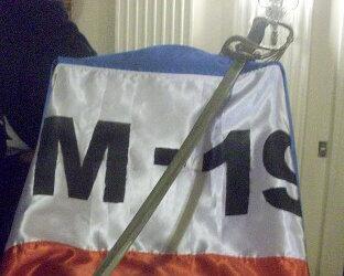 El grupo guerrillero robó el arma de Simón Bolívar.