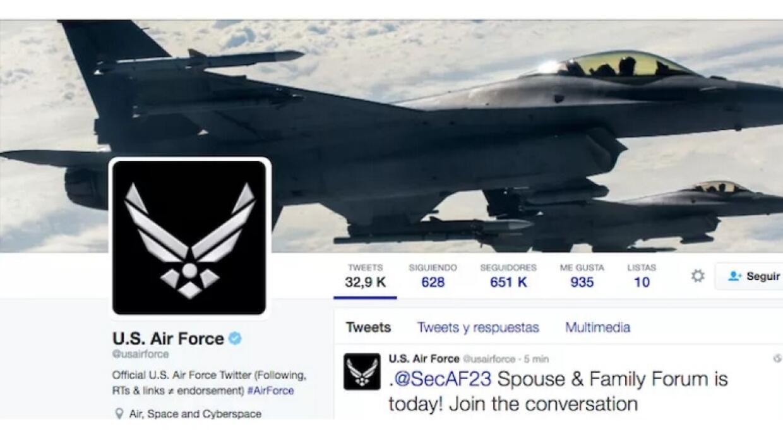 Fuerza Aerea Estados Unidos
