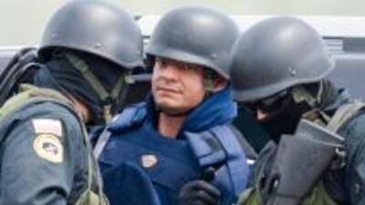 El salvadoreño Francisco Chávez Abarca admitió su responsabilidad en act...