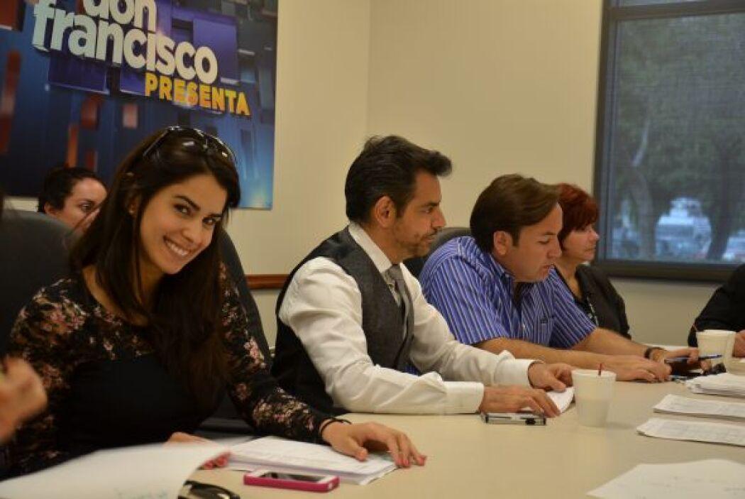 Eugenio se integró a los ensayos como si llevara tiempo con el equipo de...