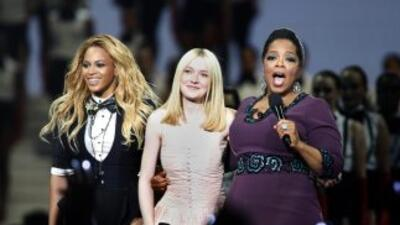 La madrina de Blue Ivy Carter será Oprah Windfrey.