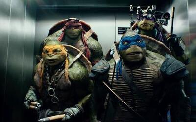 Las Tortugas Ninja cantan en el elevador
