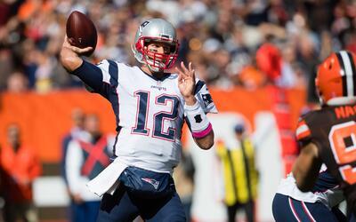 Espectacular regreso: Brady se lució y le dio la magia a Patriots