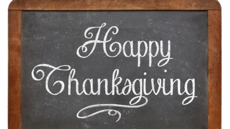 Estamos a poco menos de una semana de celebrar nuestra cena de Thanksgiv...