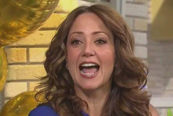Andrea Legarreta es de las pioneras del programa y se dijo muy emocionada.