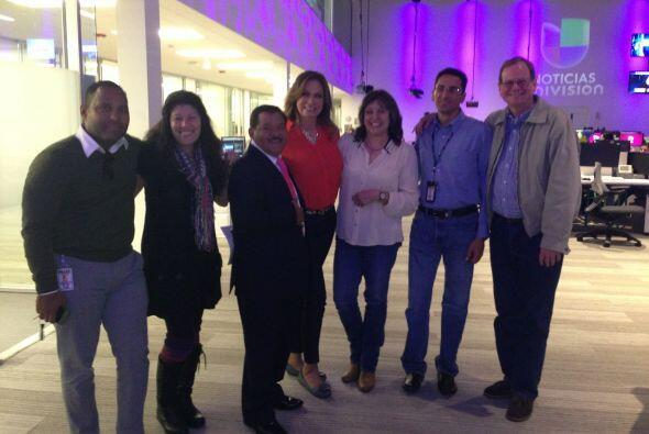 Con la visita de algunos de nuestros corresponsales inicio la celebració...