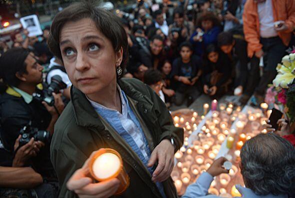 2. Carmen Aristegui. Esta periodista, egresada de la Universidad Naciona...