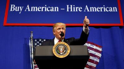 El presidente firmó la orden ejecutiva desde un evento en Wisconsin.