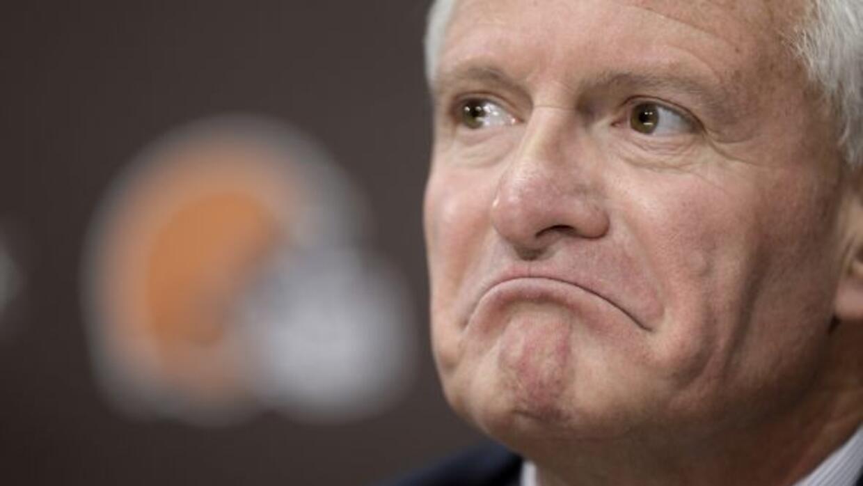 Jimmy Haslam cambió ahora la constitución de su directiva (AP-NFL).