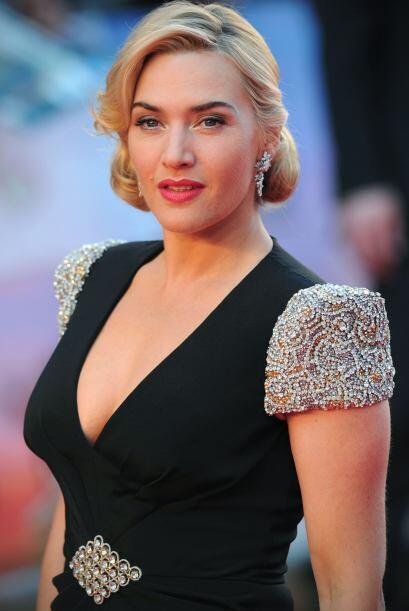 "Kate Winslet: Esta actriz creó la famosa ""Liga Británica anti-cirugía"",..."