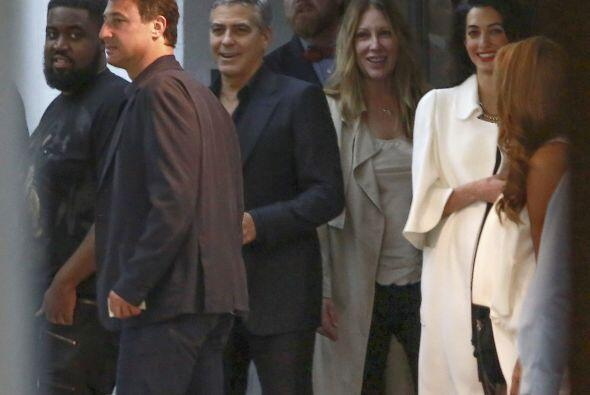 ¿Te imaginas a George y Amal con un bebé entre brazos?