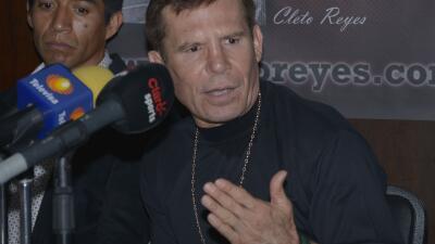 Chávez confía en el renacer de su hijo (Foto: Alma Montiel)