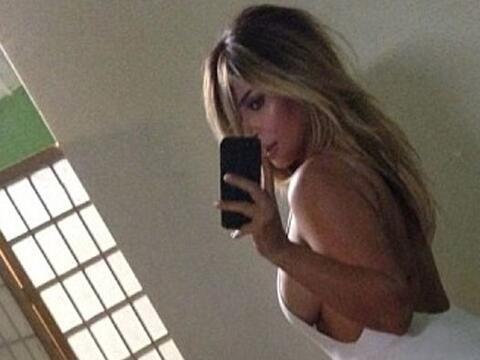 La Kardashian presumió su impresionante cuerpazo en su cuenta de...