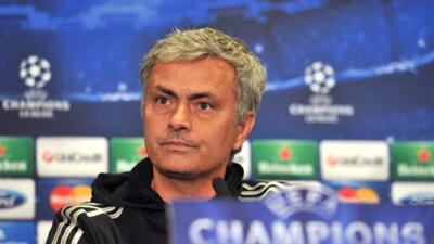 José Mourinho admitió quedar en el camino ante rivales superiores.